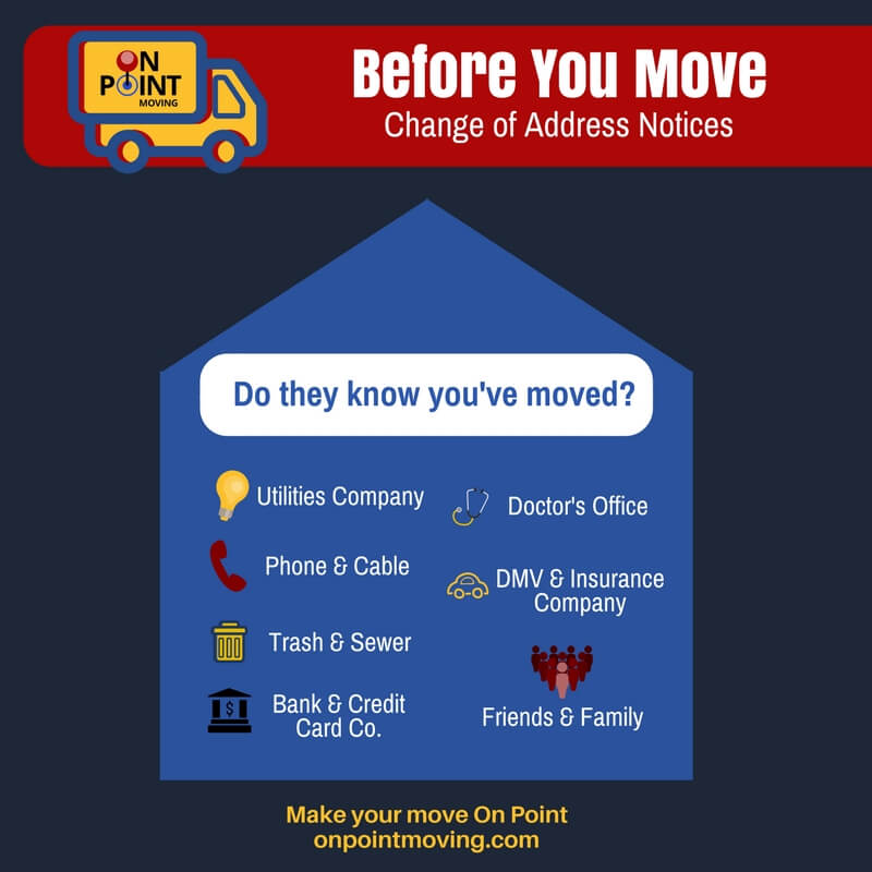 Moving Checklist - Change of Address