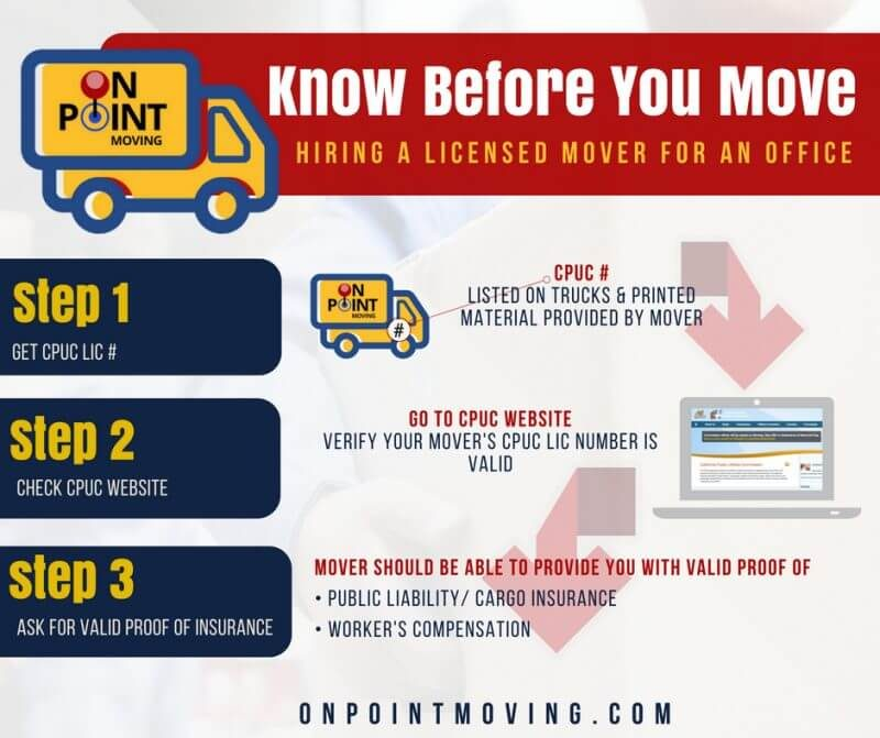 verify moving company - office moving mistakes