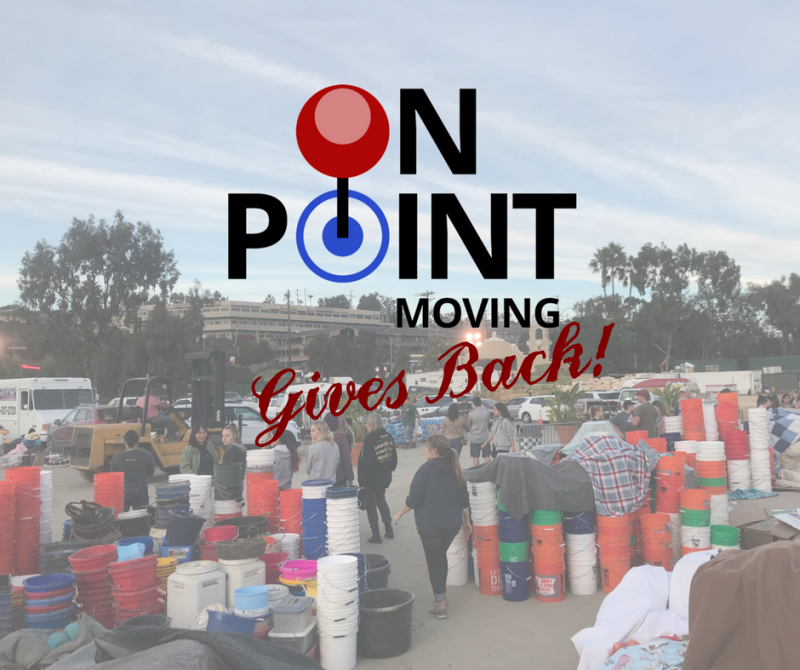 On Point Moving Gives Back
