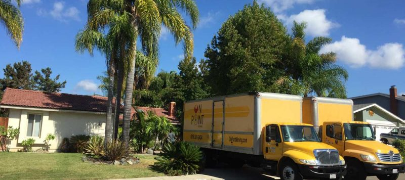 On Point Moving Company- San Diego moving and storage